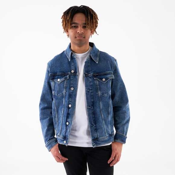 Image of   Foundation slim denim jacket