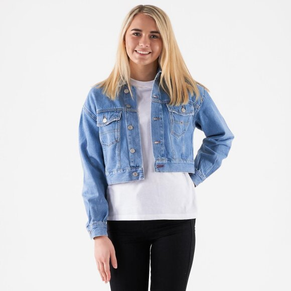 Image of   Cropped trucker jacket tmyflg