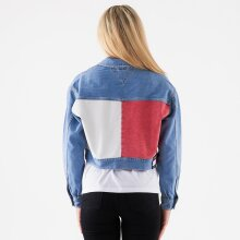 Tommy Jeans - Cropped trucker jacket tmyflg