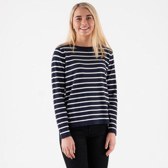 vila – Vistrike knit top på kingsqueens.dk