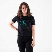 Calvin Klein - Iridescent ck straight tee