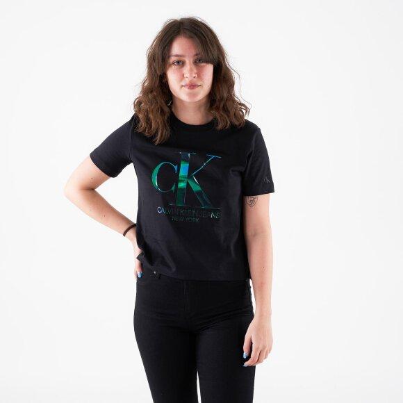 Image of   Iridescent ck straight tee