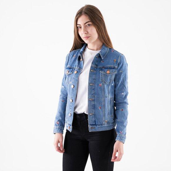 Image of   Regular trucker jacket