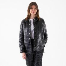 NA-KD - Quilted pu jacket