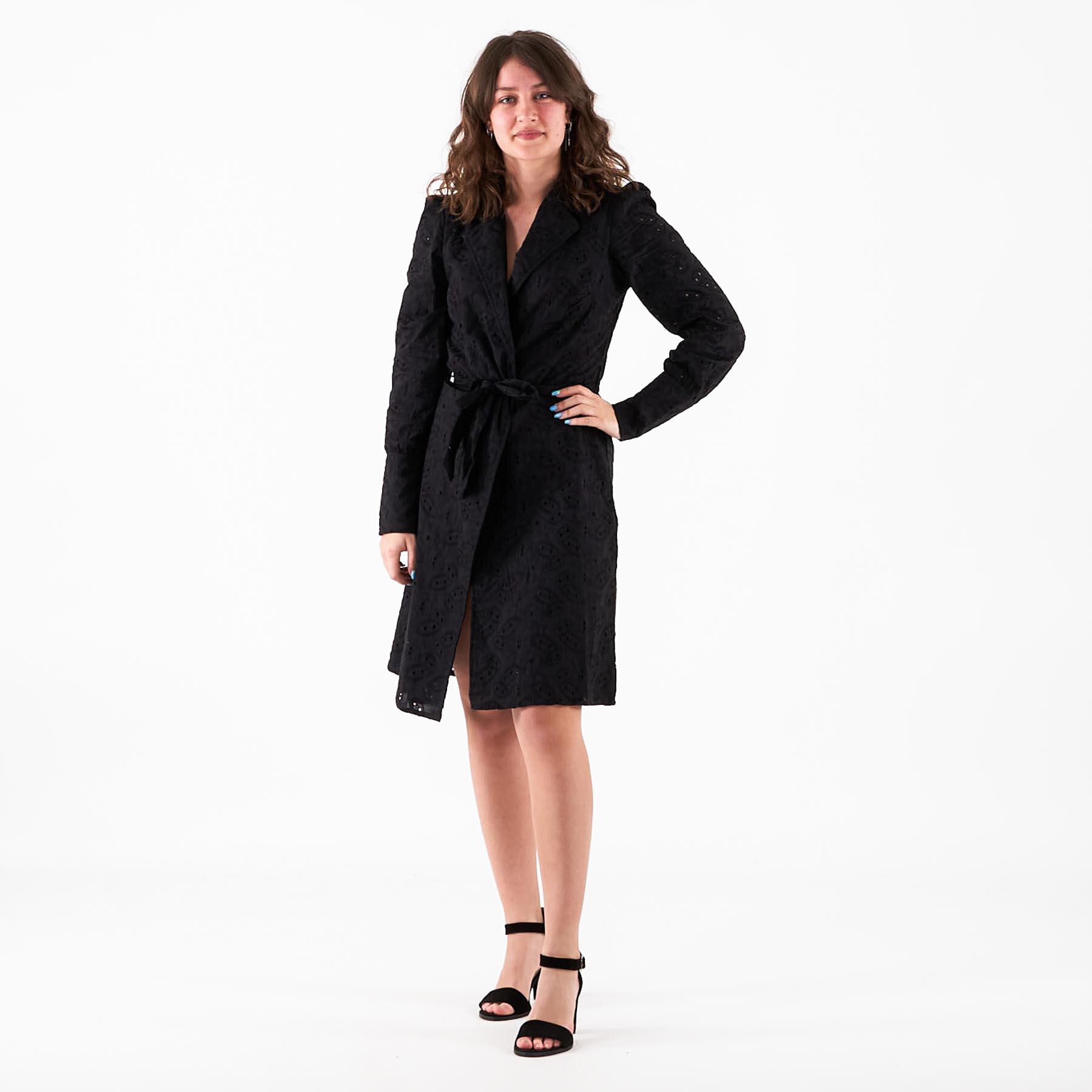 Køb NA-KD – Anglaise blazer dress – Blazer jakker til damer – Sort – 40