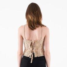 NA-KD - Lace tie back singlet