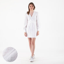 NA-KD - V-Neck crochet dress