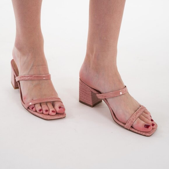 Image of   Croc squared strap sandals