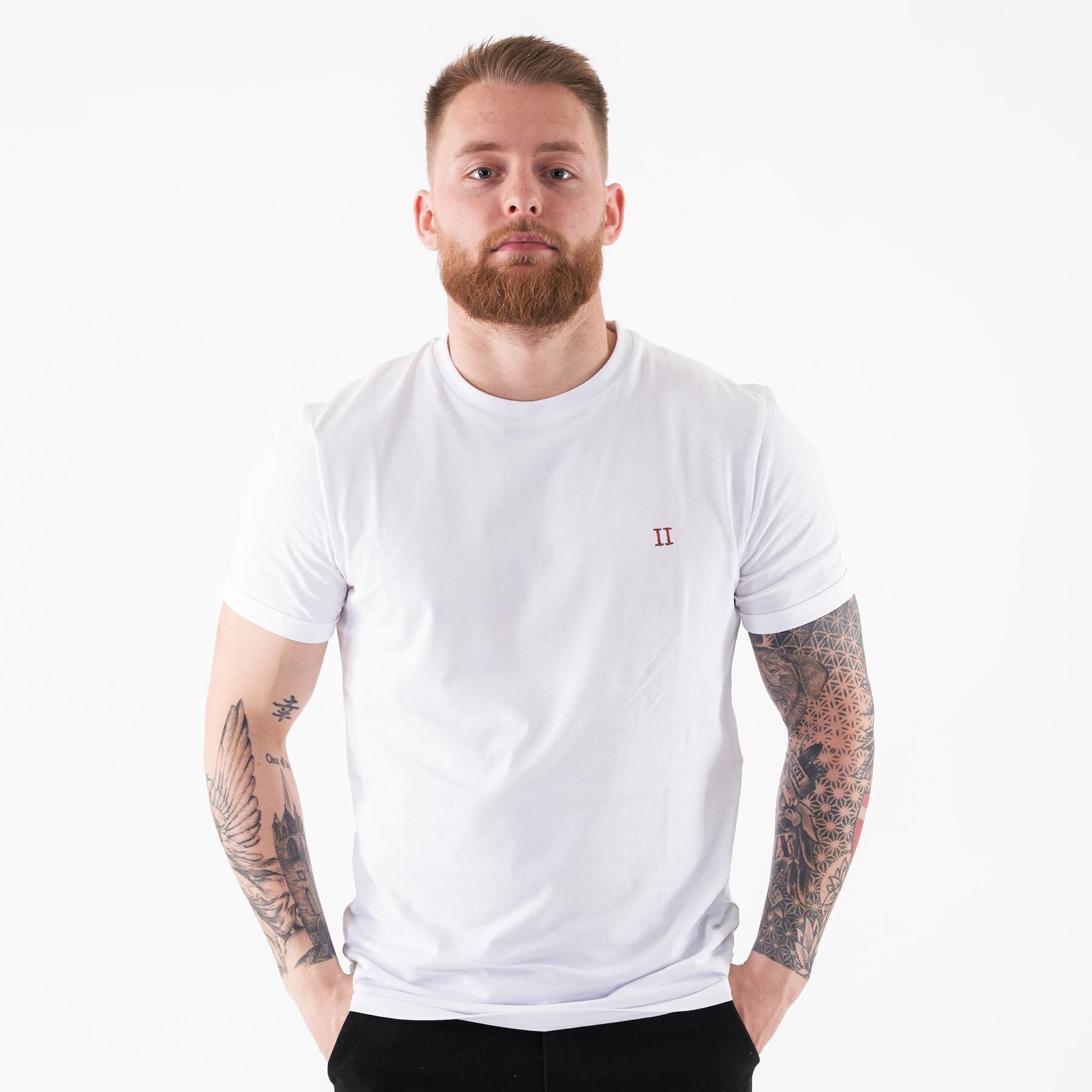 Les Deux - Nørregaard tee - T-shirts til mænd - Hvid - S