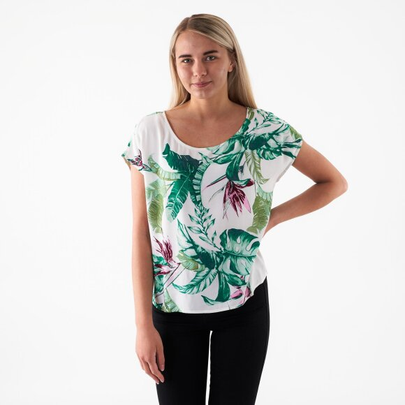 Image of   Objleave s/s perry top