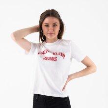 Calvin Klein - INST. CURVE LOGO STRAIGHT TEE