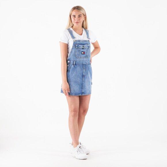 Image of   Dungaree dress crlt