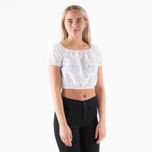 Pieces - Pcmammea ss long crop top