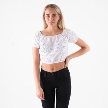 Pieces - Pcmammea ss long crop top*