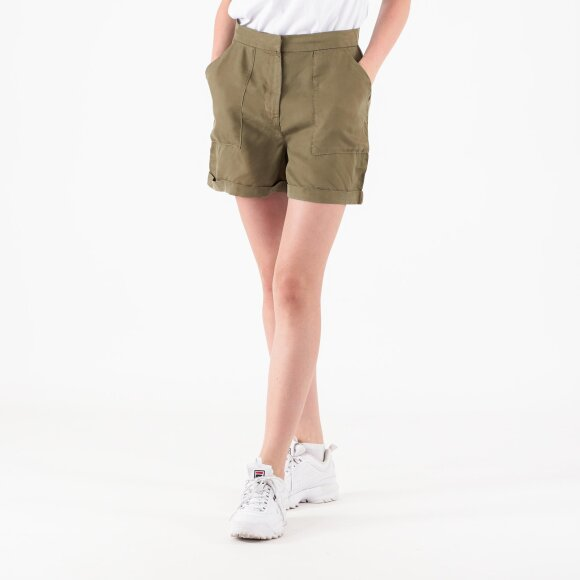 pieces Pcwhy alia mw lyocell shorts fra kingsqueens.dk