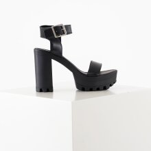 Pieces - Psede leather sandal