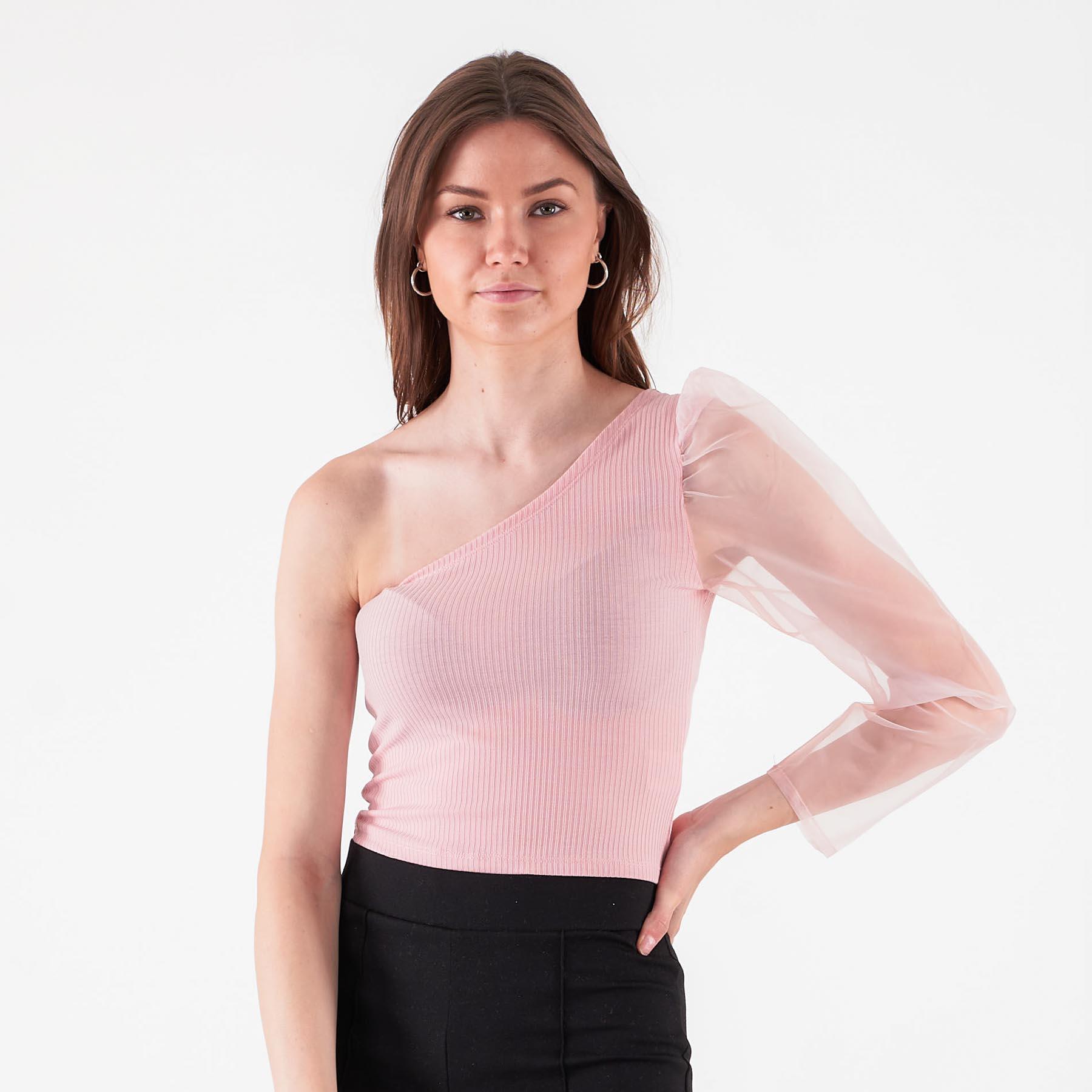 Køb Pure friday – Purbell one shoulder – Bluser og skjorter til kvinder – ROSA – XL