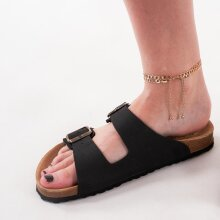 Pieces - Pcaggy ankle chain 2 pack