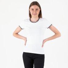 Calvin Klein - Logo trim ss top