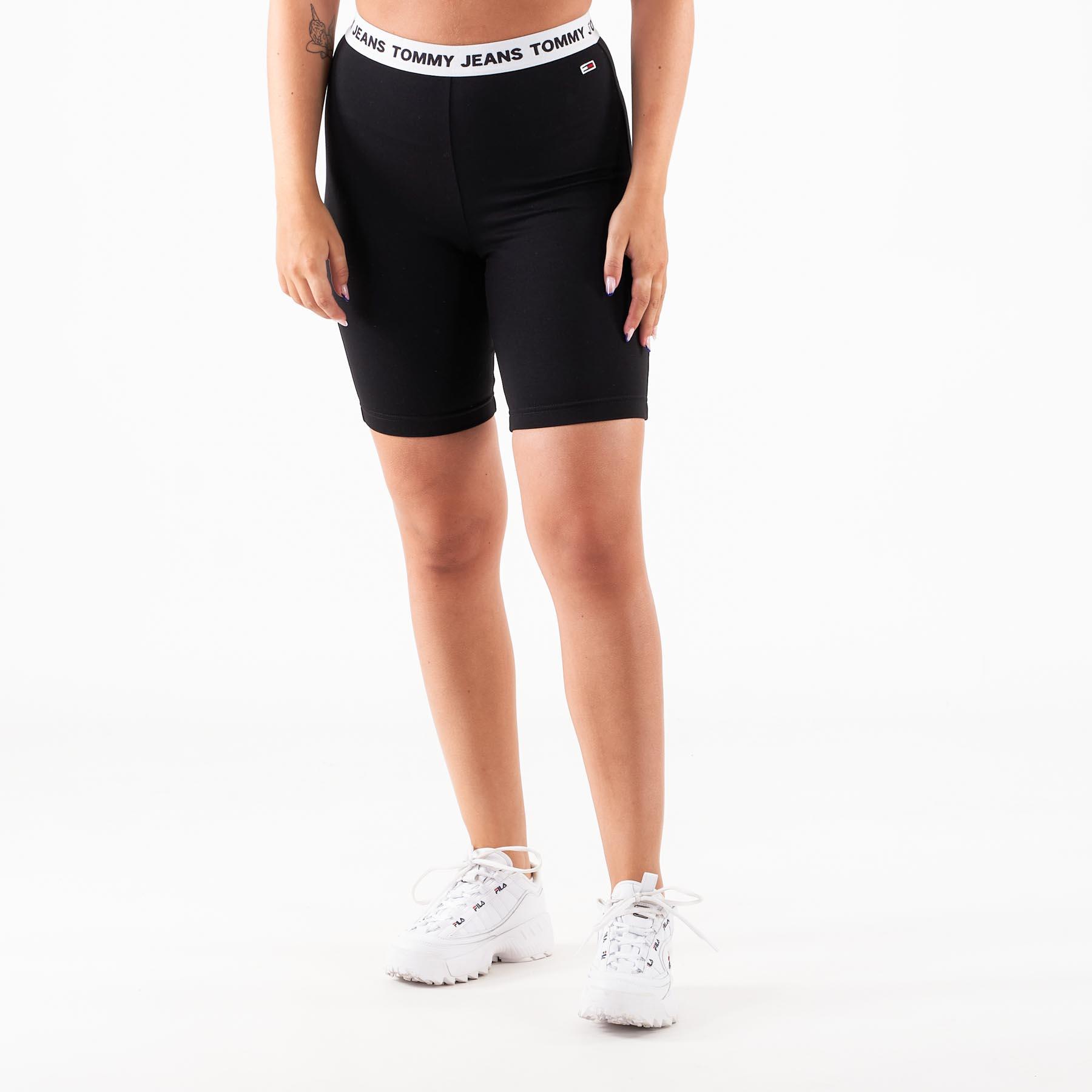 Tommy Jeans – Tjw legging shorts – Shorts til damer – Sort – L