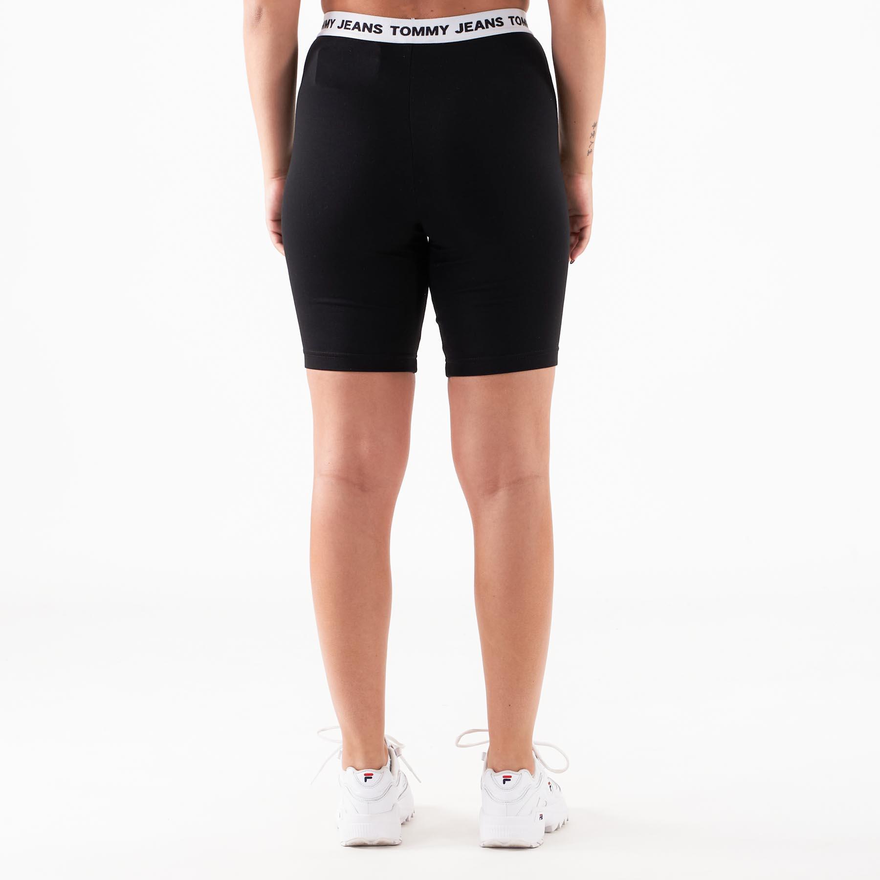 Tommy Jeans – Tjw legging shorts – Shorts til damer – Sort – M