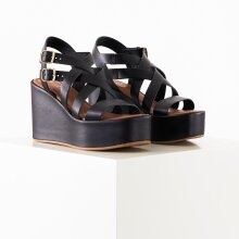 Pieces - Psalva leather sandal