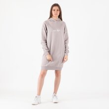 NA-KD - Contrast stitch hoodie dress