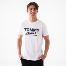 Tommy Jeans - Tjm essential front logo tee