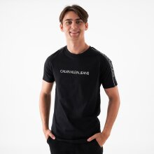 Calvin Klein - Logo tape shoulder t-shirt