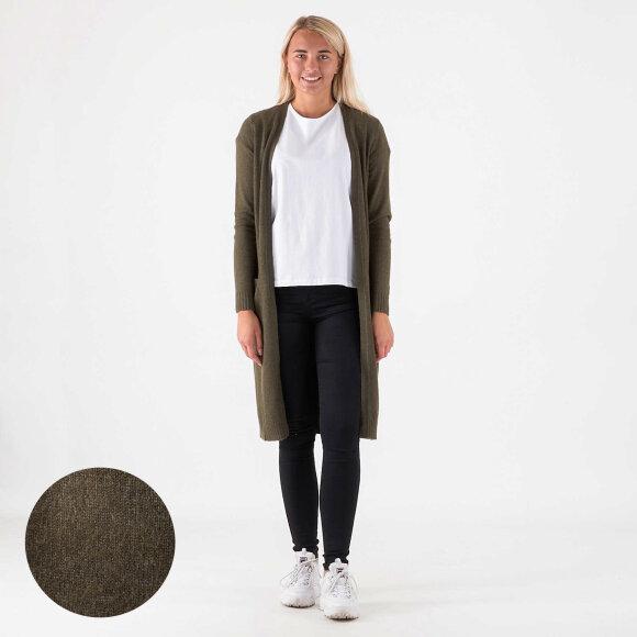 vila Viril l/s long cardigan på kingsqueens.dk