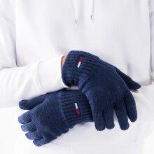 Tommy Jeans Access - Tjw basic flag rib gloves