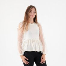 Pieces - Pcrillie ls organza top