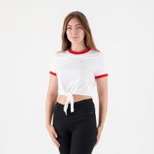 Tommy Jeans - Tjw front tie tee
