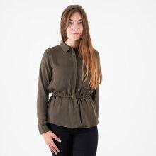 MOSS Copenhagen - Riva polysilk ls peplum shirt
