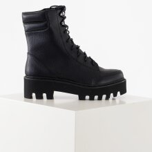NA-KD - High profile lace up boots