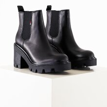Tommy Hilfiger Shoes - Essential leather midheel boot