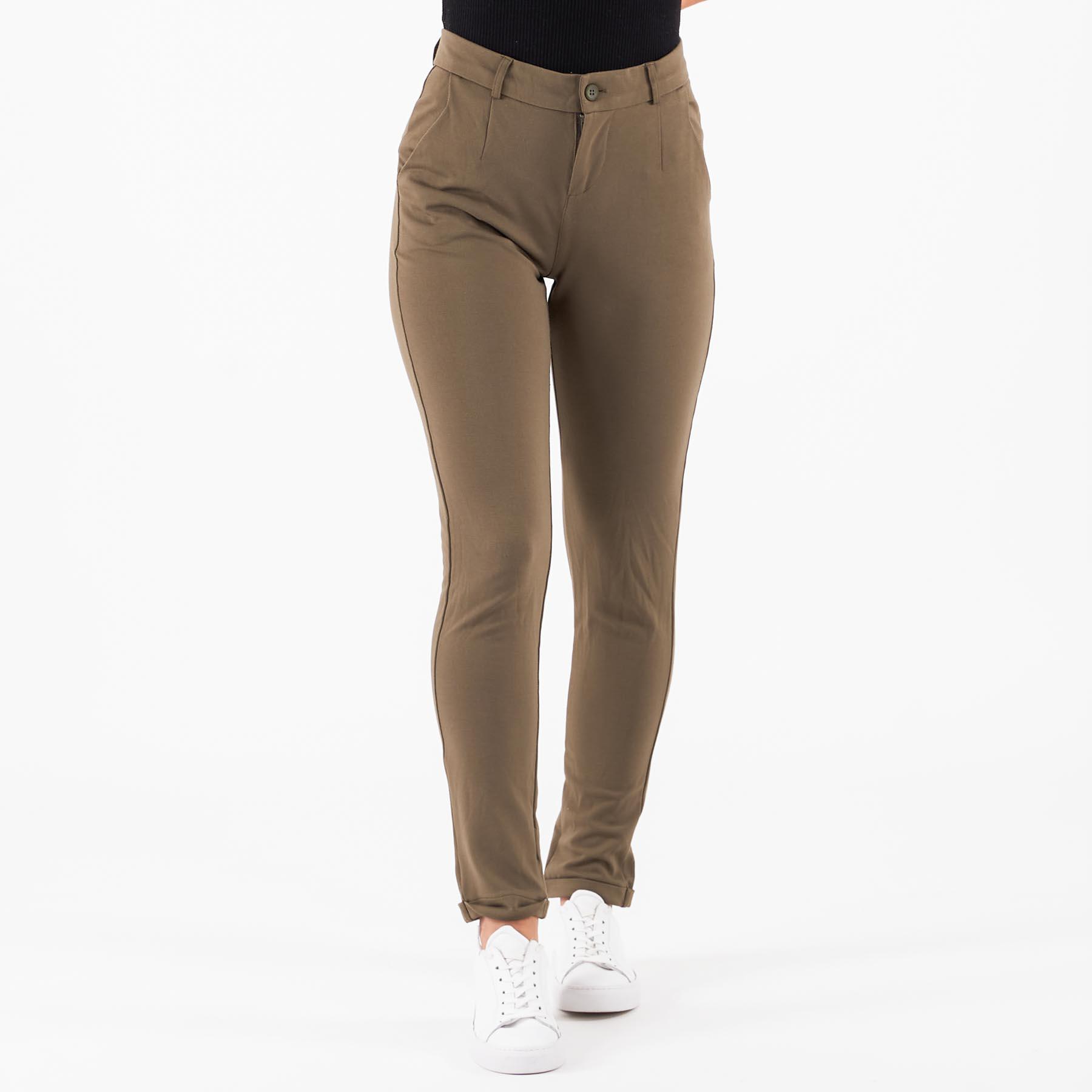Køb Black rebel – Comfort pants – Damebukser – Army – XXL