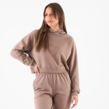 Pure friday - Purcora cropped hoodie