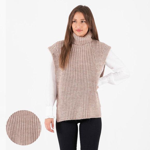 object – Objstella knit waistcoat fra kingsqueens.dk