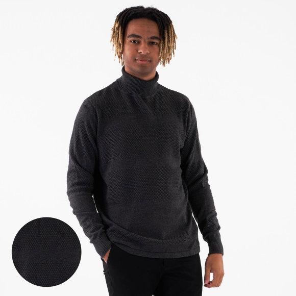 black rebel Mathi roll neck fra kingsqueens.dk