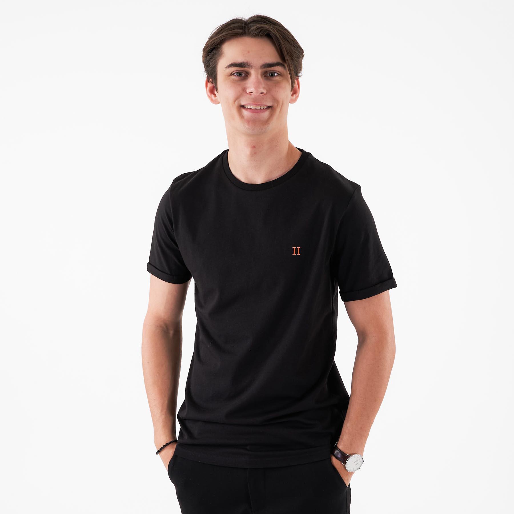 Les Deux - Nørregaard tee - T-shirts til mænd - Sort - S