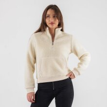 Calvin Klein - Sherpa mock neck zip