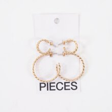 Pieces - Pcorina 2-pack earrings