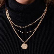 Pieces - Pcolga combi necklace