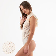 Pieces - Pcsikka sl lace bodystocking