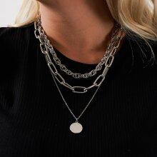 Pieces - Pcdorethe combi necklace