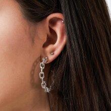 Pieces - Pcdodo hoop earrings