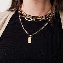Pieces - Pcdomina combi necklace