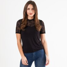 Pieces - Pcpina ss lace top