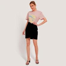 NA-KD - knot mini skirt